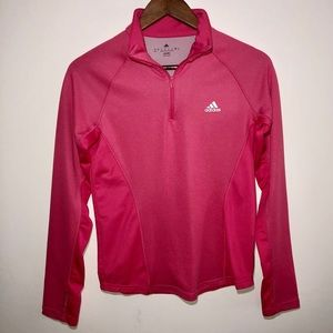 Adidas Climalite Quarter Zip Pullover Size S